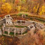 Осінній Невицький замок вражає (відео)
