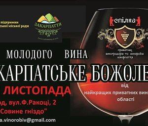 """Ужгород запрошує на винний фестиваль """"Закарпатське божоле"""""""