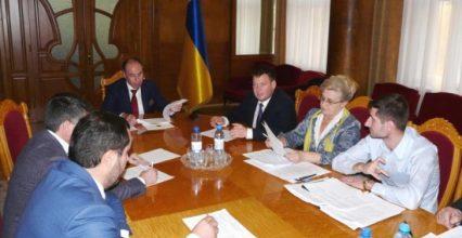 На Закарпатті обласна комісія розглянула пропозиції щодо перерозподілу коштів ДФРР