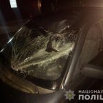 Поліція Тячівщини з'ясовує обставини аварії у селі Вонігово, в результаті якої пенсіонер опинився у реанімації