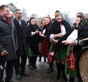 Ужгородський скансен звучав різдвяними піснями з усіх куточків Закарпаття (ФОТО)