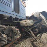 Смертельна ДТП в Тячеві: потяг розчавив вантажний автомобіль
