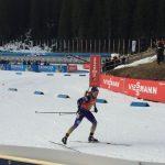 На естафеті у Словенії українські біатлоністи зупинилися за крок від медалей