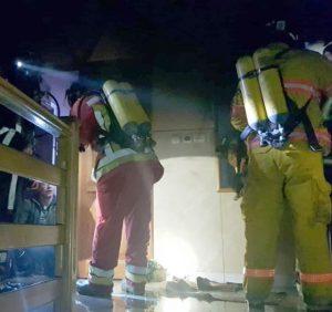 Одну людину врятовано та 37 евакуйовані під час ліквідації пожежі в готелі у с. Сусково Свалявського району