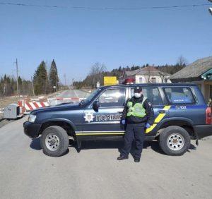 На закарпатських перевалах поліція розгорнула блокпости та КПП. Два перевали будуть закриті повністю