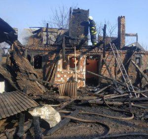Родина з міжгірської Колочави залишилась без даху над головою і потребує допомоги (фото)