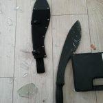 В Ужгороі агресивний іноземець озброївшись мачете напав на місцевого жителя