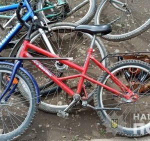 На Свалявщині поліцейські викрили двох неповнолітніх на серії крадіжок велосипедів