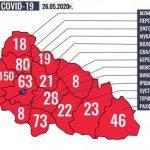 Ситуація щодо COVID-19 на Закарпатті станом на ранок 26 травня