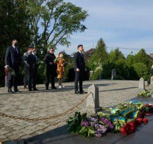 До Закарпаття прибув Президент Володимир Зеленський (фото)