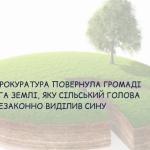 На Берегівщині сільський голова незаконно виділив сину 1 га земель водного фонду вартістю 1 млн грн