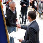 Редактора газети РІО Петра Гойса відзначено з нагоди Дня журналіста керівництвом Закарпатської області
