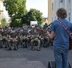 На Закарпатті для прикордонників виступали зірки української естради