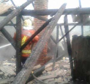 У Малому Березному рятувальники на пожежі виявили людське тіло