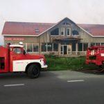 """Рятувальники ліквідували пожежу в недобудові поблизу КПП """"Тиса"""""""