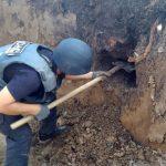 Піротехніки знищили боєприпаси, виявлені на місці зведення житлового будинку в Мукачеві