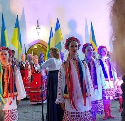 """В Ужгороді за доброю традицією лунала """"Молитва за Україну"""" (відео)"""