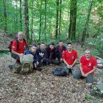 Закарпатські рятувальники знайшли чотирьох місцевих мешканців, які заблукали в Карпатах, збираючи чорниці