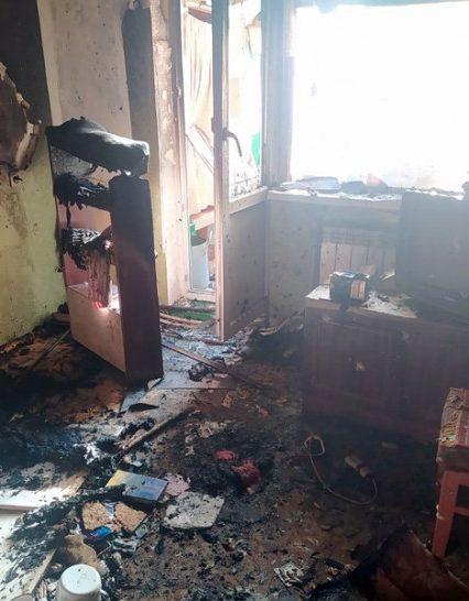 У Берегові на пожежі виявлено тіло власника оселі