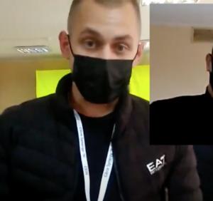 Фарс, а не вибори: в Ужгороді члени ДВК намагалися виставити за двері спостерігача ОПОРИ (відео)