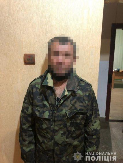 Поліцейські затримали жителя Берегівщини, який скоїв розбійний напад на жінку