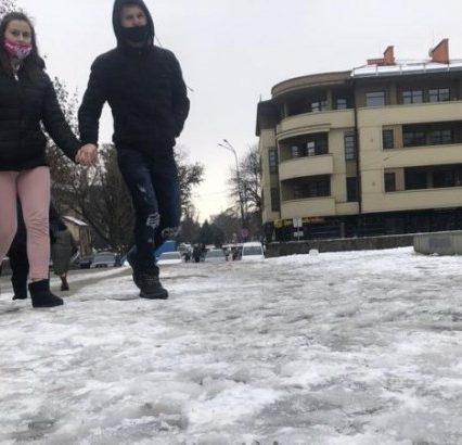 За останній тиждень в Ужгороді травмувалася 21 людина