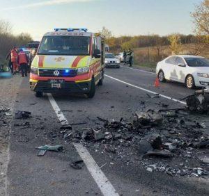 Учасником смертельної автотрощі на Мукачівщині був працівник поліції