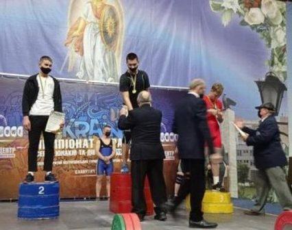 Закарпатець Андрій Шпичка став чемпіоном України з важкої атлетики