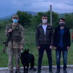 На Великоберезнянщині прикордонники затримали двох нелегалів з Туреччини