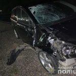 Поліція встановлює обставини автопригоди у Виноградові, внаслідок якої загинув пішохід