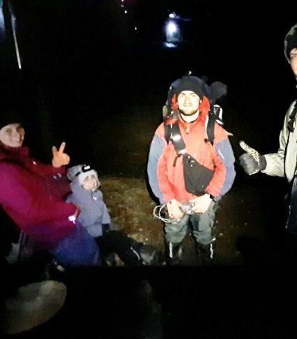 Закарпатські рятувальники надавали допомогу чотирьом туристам, котрі не розрахували свої сили в Карпатах