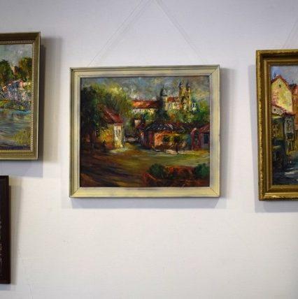 Виставку картин Петра Шолтеса відкрито в Ужгороді